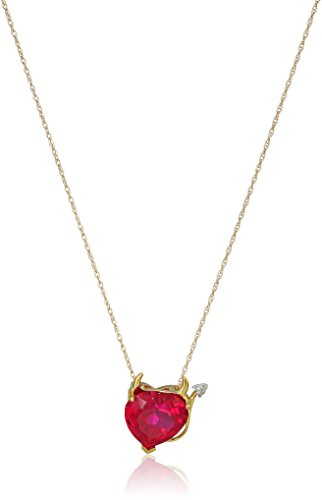 heart and devil necklace - 6