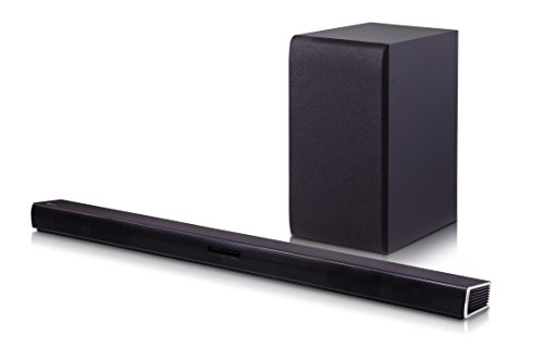 Price comparison product image LG Electronics SH4 2.1 Channel 300W Sound Bar with Wireless Subwoofer (2016 Model)