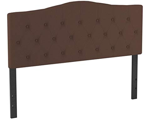 Flash Furniture Cambridge Tufted Upholstered Queen Size Headboard in Dark Brown Fabric by Flash Furniture (Image #3)
