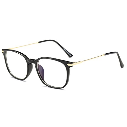 Price comparison product image Simvey Classic Computer Blue Light Blocking Glasses TR90 Frame Gaming Glasses Unisex