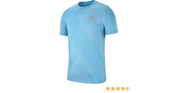 Nike M Nkct Rafa tee Short Sleeve T-Shirt, Hombre: Amazon.es: Ropa ...