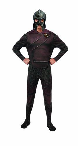 Deluxe Adult Klingon Star Trek Costumes (Rubie's Costume Star Trek Into Darkness Deluxe Klingon With Mask, Multicolor, X-large)