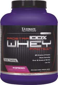 Ultimate Nutrition Raspberry Prostar Whey Protein Isolate Powder  5 lbs