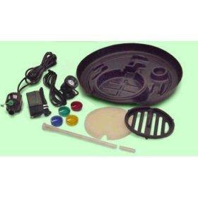 Henta Pond in Pot, Complete Indoor/Outdoor Plastic Water Garden Kit with Pump