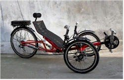 Ert-36 Electric Recumbent Tricycle