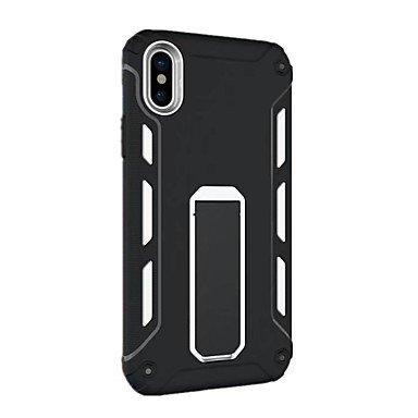Fundas y estuches para teléfonos móviles, para la cubierta del caso a prueba de choques con la caja dura de la contraportada de la cubierta del caso PC para el iphone 8 de la ( Color : Oro Rosa , Mode Azul