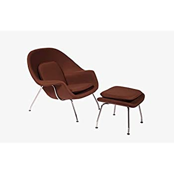 Super Cashmere Womb Chair And Ottoman Simple Modern Fashiounge Lounge Chair And Ottomann Style In Living Room Coffee Machost Co Dining Chair Design Ideas Machostcouk