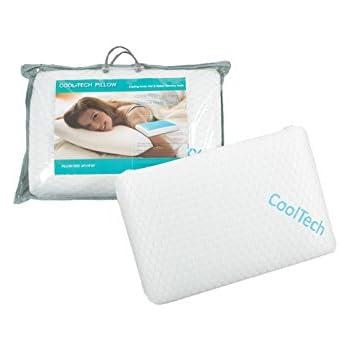 Amazon Com Cool Tech Gel Memory Foam Pillow Home Amp Kitchen