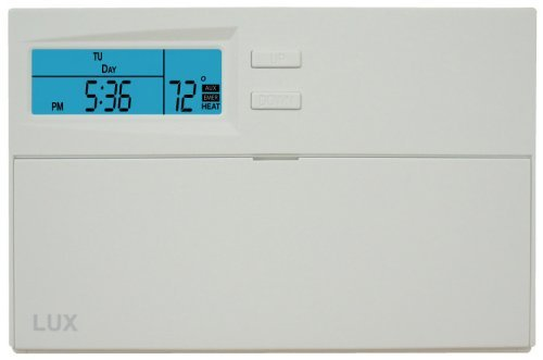 (Lux Products HP2110 Smart Temp Programmable Heat Pump Thermostat by Lux)