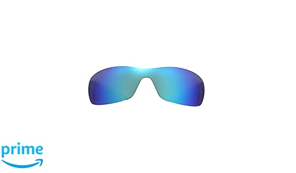 0219d394a6a Amazon.com  Polarized Replacement Lenses for Oakley Antix Sunglasses (Ice  Blue) NicelyFit  Clothing