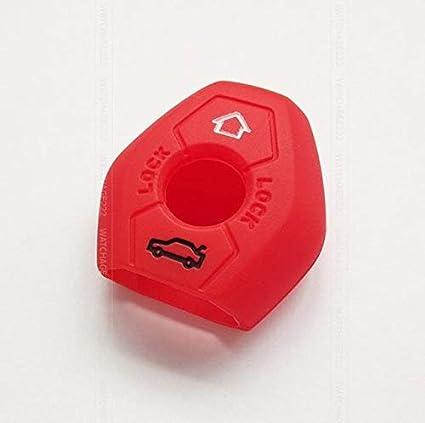 Llavero de silicona con 2 botones para BMW X3 X5 Z3 Z4 3 5 7 ...