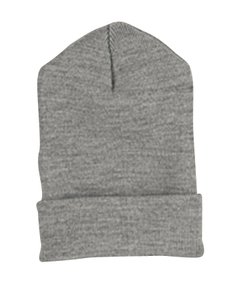 Yupoong 1501 Heavy Weight Cuffed Knit Cap Heather One Size
