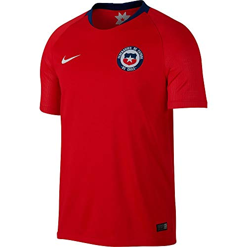 (Nike 2018 Chile Home Jersey- Red 2XL)