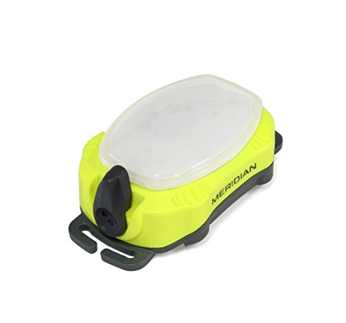 Princeton Yellow Flashlight - Princeton Tec Meridian Strobe/Beacon Light (100 Lumens, Neon Yellow)