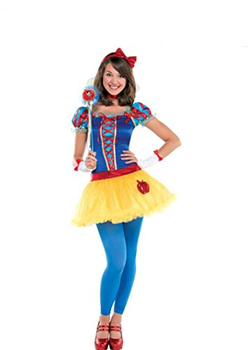 Teen Girls Disney Princess Snow White Costume (Large) - Junior Princess Costumes