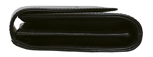 Bosca Old Leather Clutch (Black) by Bosca