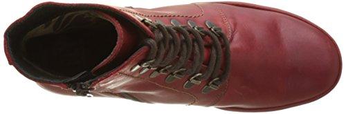 Fly London Yarn772fly, Botas Para Mujer Rojo (Red)