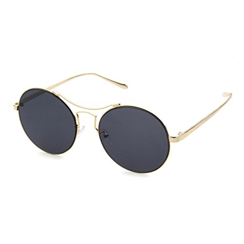 LOMOL 2016 New Girls Fashion Trendy Cute Colorful UV Protection Round - Who Sunglasses Makes Bolle