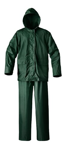Raider Simplex Rainsuit (Green, X-Large) ()