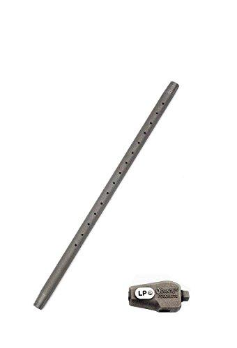 Dante Gas Log Lighter Burner Pipe with Mixer (712-LP-B), 12-Inch, Propane