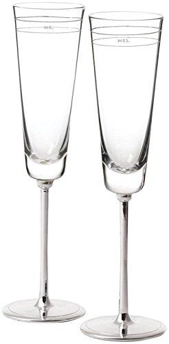 kate spade new york Darling Point Flutes, Set of 2