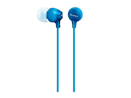 Sony MDREX15LP/L In-Ear Headphone (Blue) (Sony Earbud)
