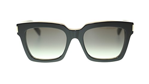 YVES SAINT LAURENT Rectangular Sunglasses SL Bold 1 001 Black/Grey Lens - Ysl Bold