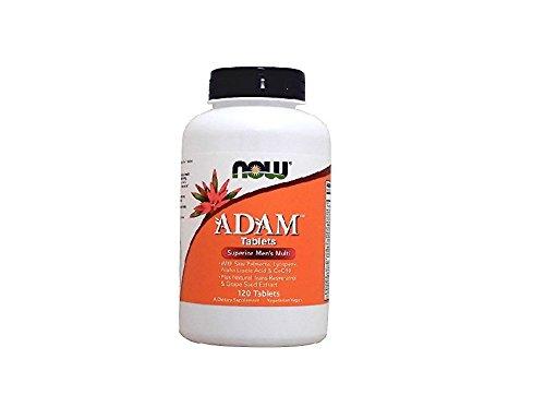 NOW ADAM Men's Multiple Vitamin,120 Tablets