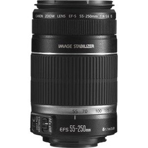 Canon EF-S 55-250mm f/4.0-5.6 IS II Telephoto Zoom Lens (discontinued by manufacturer) by Canon