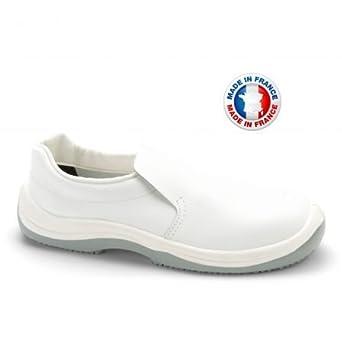 Chaussures De Cuisine De Sécurité Blanche Odet S24 Amazonfr