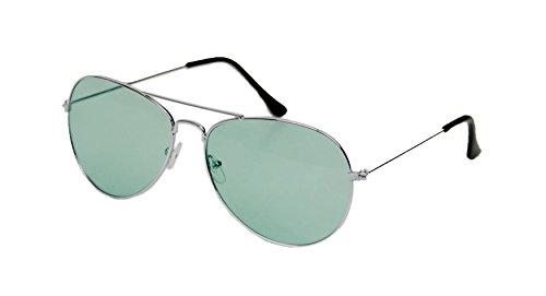 vert UV400 Unisexe des 80 soleil Shop® femme homme pour Mode ASVP de années aviateur rétro Lunettes ZUqaAgF