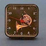 Music Treasures Co. French Horn Alarm Wall Clock