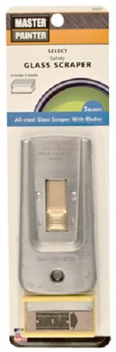 Allway Tool GS Steel Safety Glass Razor Blade Scrapers w 5 Blades - Quantity 200
