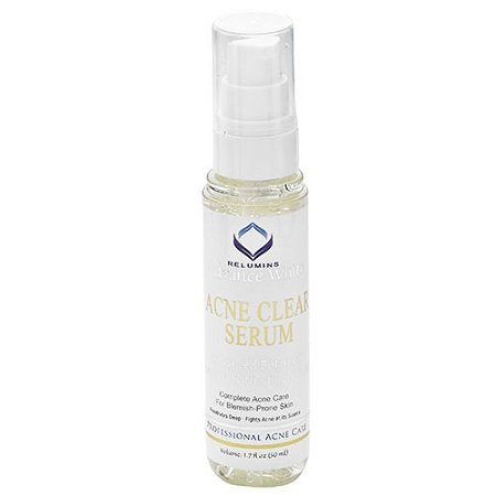 Authentic Relumins Medicated Professional Acne Clear Serum with Acne Fighting Botanicals