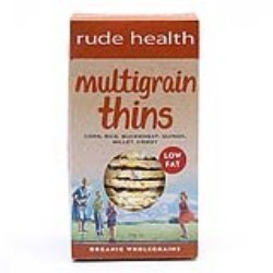 Rude Health Organic Multigrain Thins 160g by Rude Health (Rude Thin)