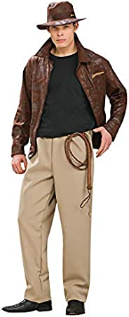 morris costumes Indiana Jones DLX Adult STD: Amazon.es: Juguetes y juegos