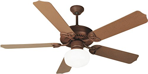 Craftmade Patio 52 Ceiling Fan (Craftmade K11152 Ceiling Fan Motor with Blades Included, 52