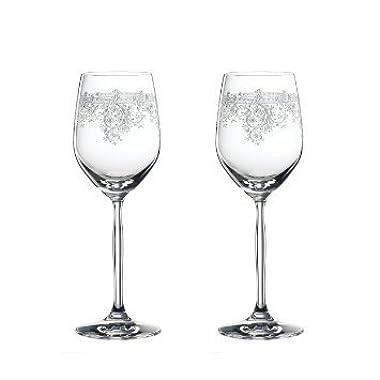 Spiegelau Renaissance White Wine Glass, 2pc Set, White Wine Glass, Wine Glass, Crystal Glass, 340 ml, 4662062