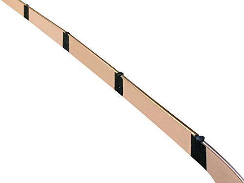 Frame It All 300001801 Uptown Landscape Edging 16' x 1'' Straight Kit, Brown by Frame It All