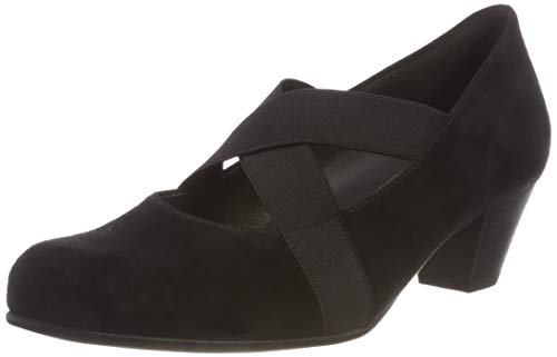 Schwarz Schwarz Women's Basic Pumps Black Toe Gabor Comfort Deko 47 Closed aPpwqqYC7x