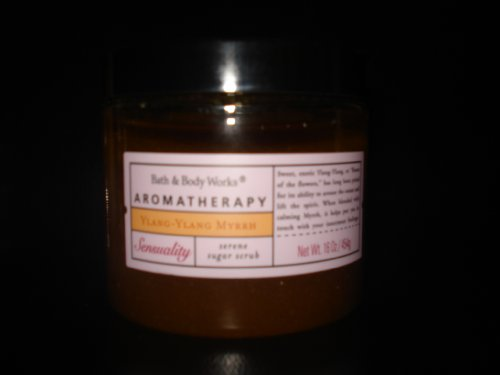 (Bath & Body Works Aromatherapy Ylang-Ylang Myrrh Sugar Scrub 16 oz.)