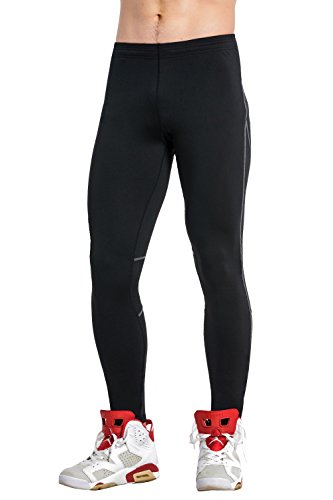 insulated compression pants - 4