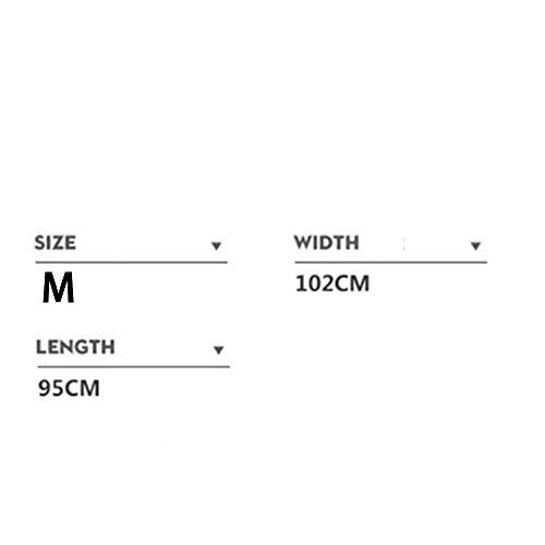 moda creativa impermeabile Logo del impermeabile Dimensione Geyao modello di di di M color EVA lungo nero Cream personalizzabile Color qPBB7tv