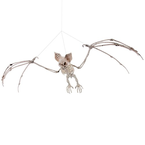 [Halloween Haunters Hanging Vampire Bat Skeleton 14