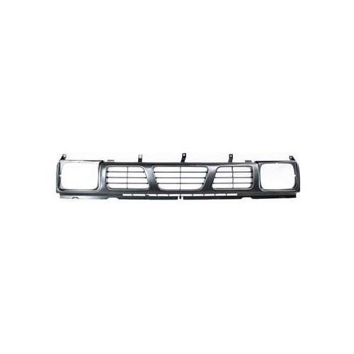 Make Auto Parts Manufacturing Grille With Headlight Holes For Nissan D21 1993-1994, For Nissan Pickup 1995-1997 - NI1200115 ()