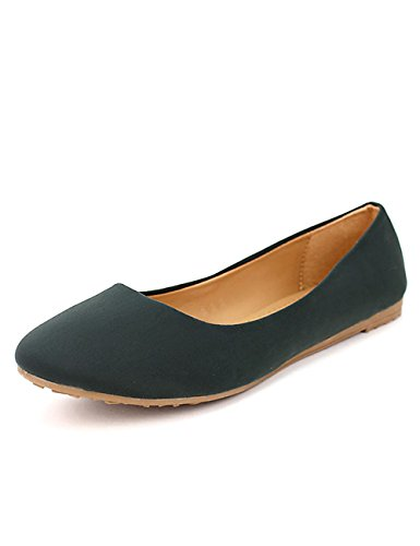 Cendriyon Femme Kaki Ballerine Chaussures Mat CINK 40w4vxqrX