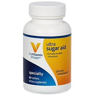 the Vitamin Shoppe Ultra Sugar Aid With Chromax Plus Biotin (60 Tablets) (Tablets Same Plus Supplement Dietary)