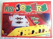 Pegs and Jokers; the Family Card Game of Racing Pegs by Fundex
