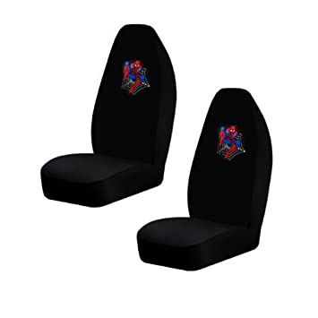 Two Officially Licensed Universal Fit Highback Front Bucket Seat Covers