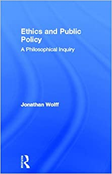 Book Ethics and Public Policy: A Philosophical Inquiry
